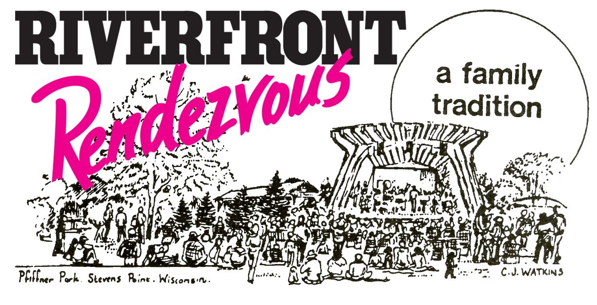 Riverfront Rendezvous Logo Sketch