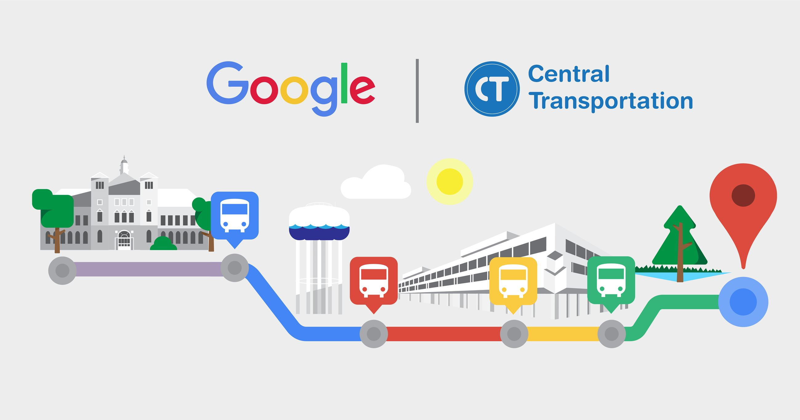 Central Transportation Google Maps