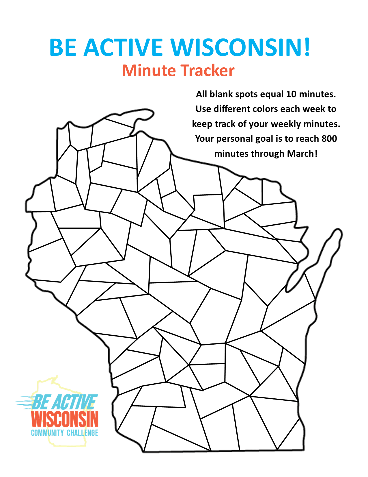 Be Active Minute Tracker Opens in new window