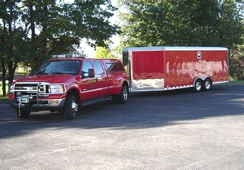 Amherst Fire District's Truck and Trailer